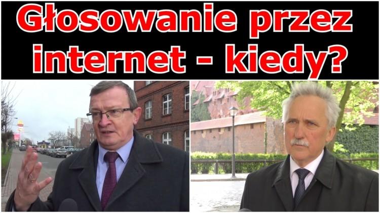 Czarnobaj kontra Cymański. Czy w Polsce doczekamy się głosowania przez internet?