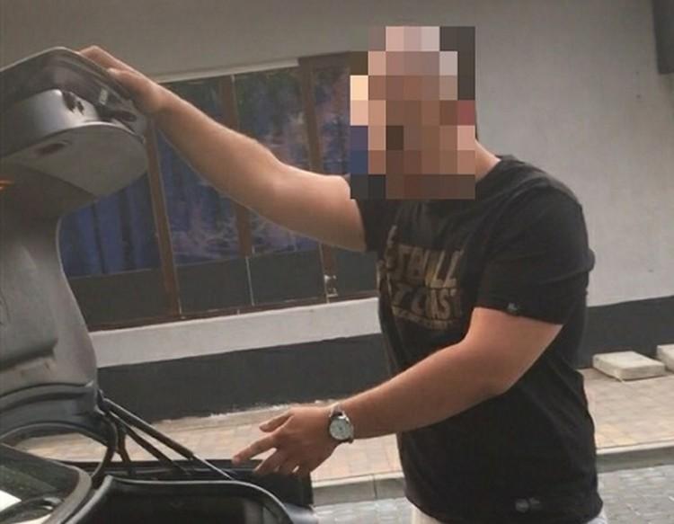 Kradł paliwo na kradzionych tablicach rejestracyjnych.