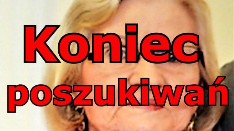 AKTUALIZACJA. Zaginęła 79-letnia mieszkanka Tczewa. Policja prosi o pomoc.