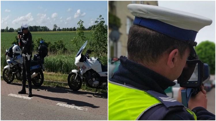 """W weekend policyjne działania """"Motocykle"""" i """"Prędkość""""."""