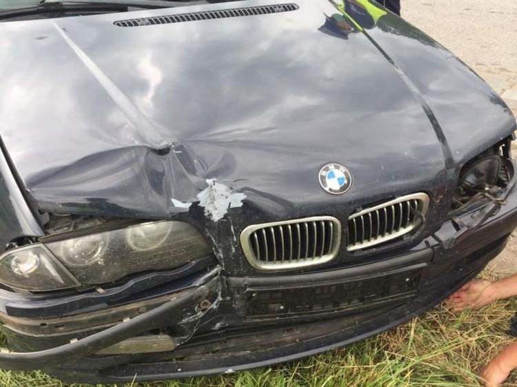Kierowca pod wpływem narkotyków uderzył w słup.