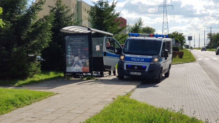 Malbork. Mężczyzna zmarł na przystanku autobusowym
