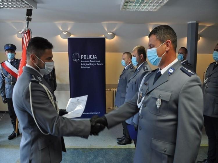 Święto Policji w nowodworskiej komendzie.