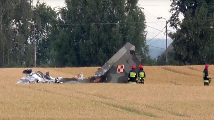 Katastrofa MiG-29 pod Pasłękiem. Oskarżono trzy osoby