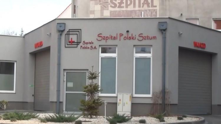 Szpital Polski w Sztumie wznowił przyjmowanie pacjentów.