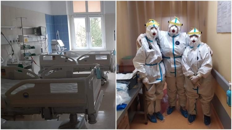 """Sztum. W szpitalu funkcjonuje oddział """"covidowy""""."""
