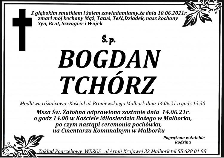 Zmarł Bogdan Tchórz.