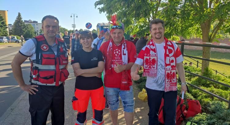 Malbork. Jaka promocja, taka frekwencja. Euro 2020: Polska – Słowacja. Mecz na wałach von Plauena.
