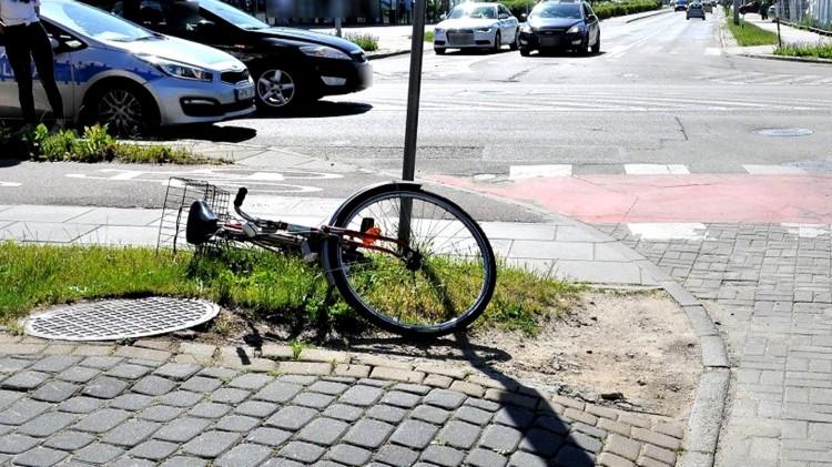 Tczew. Potrącona rowerzystka trafiła do szpitala.