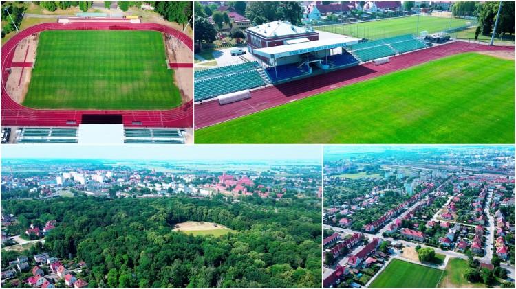 Stadion i boiska treningowe. 120 metrów nad Malborkiem - ul. Toruńska 60