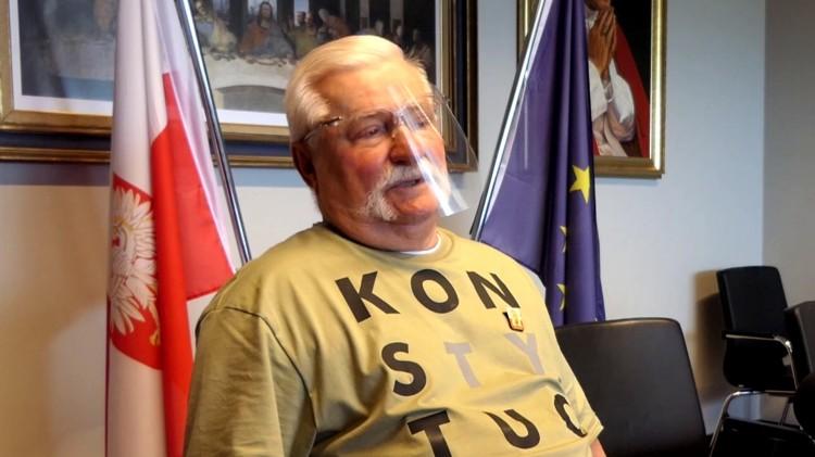 Lech Wałęsa o przekopie Mierzei Wiślanej, Donaldzie Tusku i życiu na politycznej emeryturze.