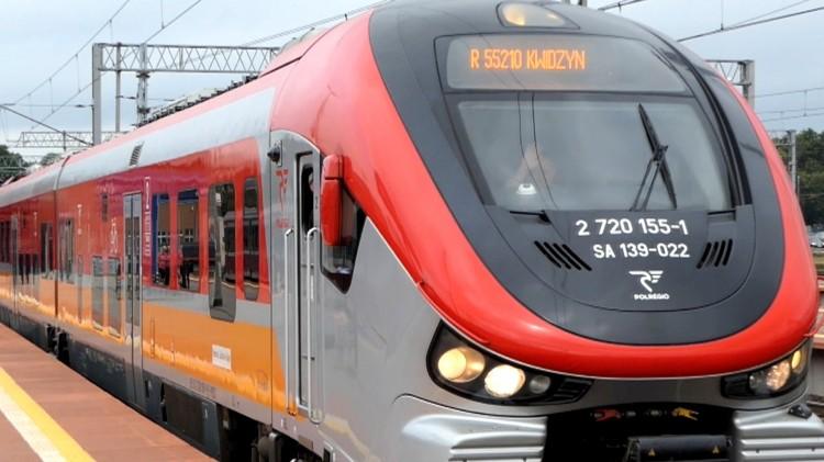 Nadeszła wiekopomna chwila! Wróciły pociągi na trasę Malbork-Kwidzyn.