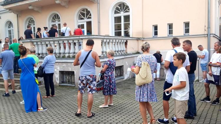 Malbork. Sukces akcji #SzczepimySię