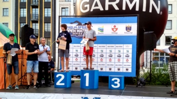 MAL WOPR. Sukces Kamila Czarnoty w zawodach na wodach otwartych.