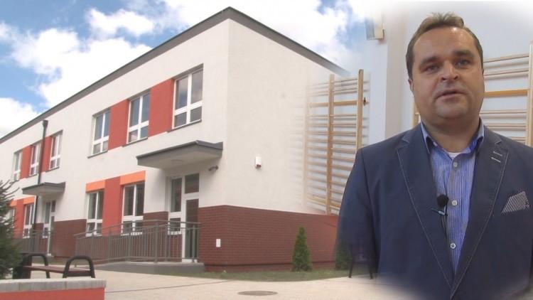 Nowy budynek przedszkolno-szkolny w Zespole Szkół w Gminie Malbork.…