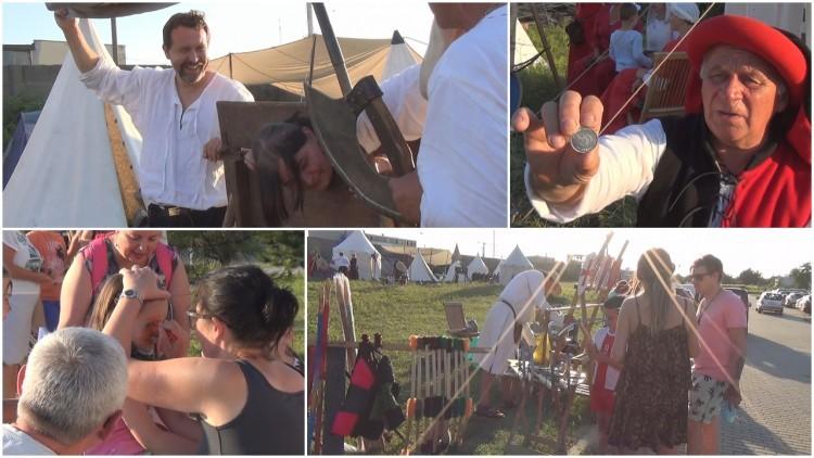 Sztum: Największą atrakcja - konie i pokazy uzbrojenia. Piknik rycerski…