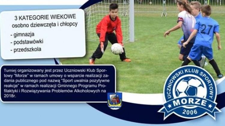Gminny Turniej Szkół i Przedszkoli w piłce nożnej - zapraszamy do…