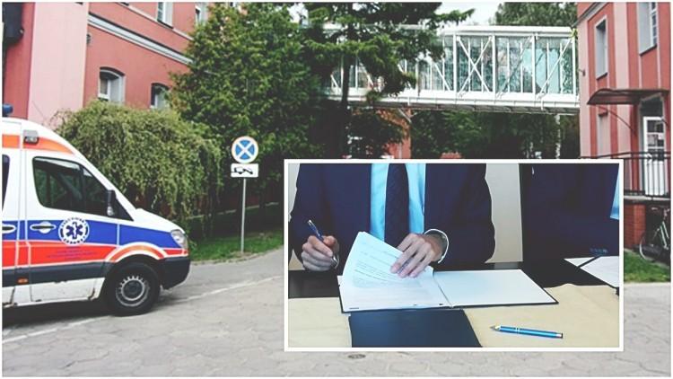 Powstanie łącznik miedzy szpitalnymi oddziałami. Podpisane umowy przewidują…
