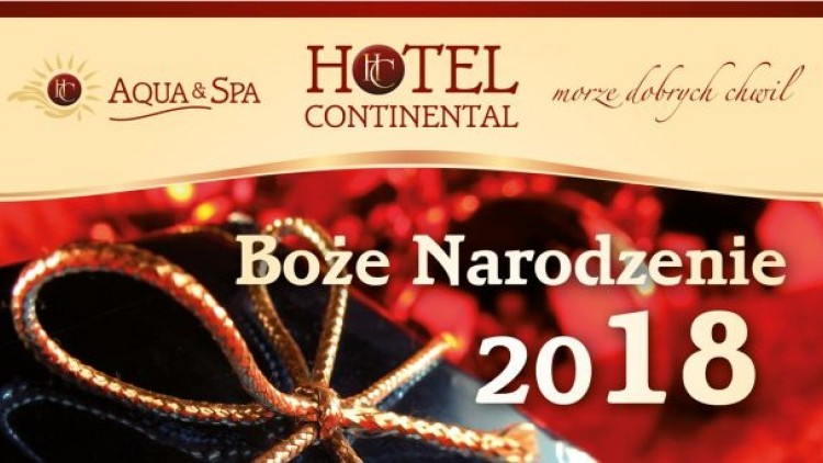 Spędź rodzinne Święta Bożego Narodzenia w Hotelu Continental w Krynicy…