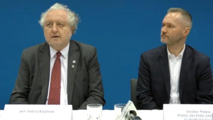 Konferencja prasowa Andrzeja Rzeplińskiego i Jarosława Wałęsy w Malborku…