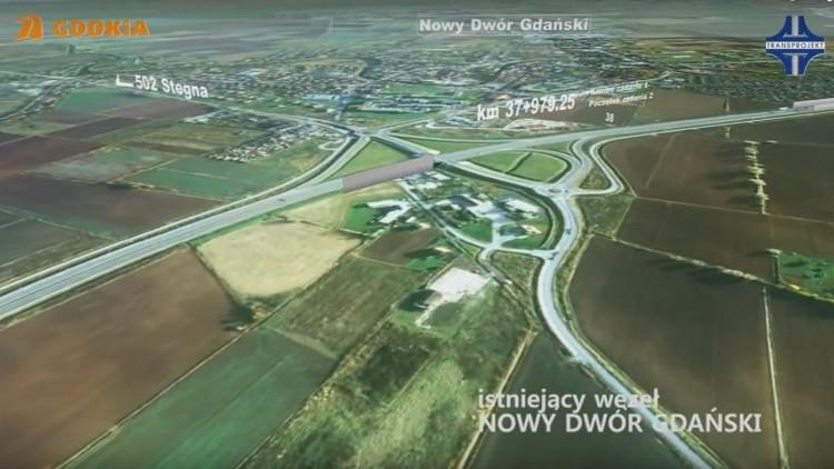 Droga ekspresowa S7: Wybrano wykonawców odcinka między Gdańskiem, Nowym…