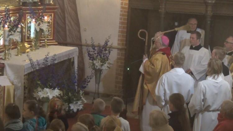 Uroczystość Poświęcenia Ołtarza. Matki Bożej Różańcowej w Dzierzgoniu…