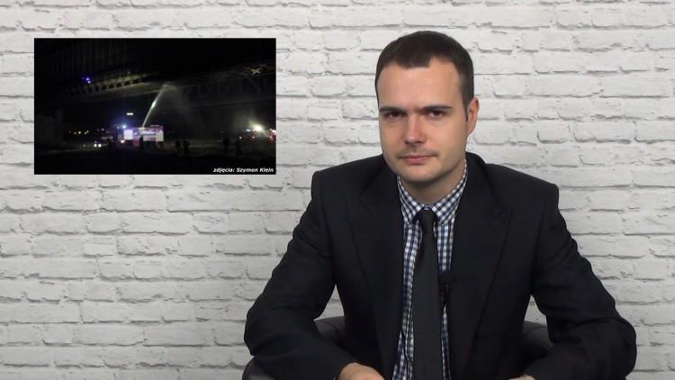 Pożar mostu w Lisewie.Info Tygodnik. Malbork - Sztum - Nowy Dwór Gdański…