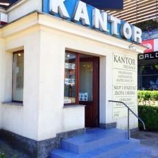 Kantor Manhattan (budynek wolnostojący ) Gdansk-Wrzeszcz skup złota i srebra