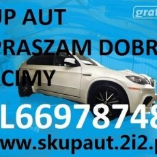 Skup Aut Malbork,Sztum,Nowy Dwór Gd.tel.669787480 Złomowanie-Kasacja Pojazdów skup aut bardzo dobrych