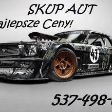 Skup Aut 537-498-654 Malbork oraz okolice do 200km!