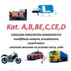 PROMOCJA !!! Kurs na prawo jazdy kat.A,B,BE,C,CE,D oraz szkolenia kierowców zawodowych OSK Edyta Wojtkowska