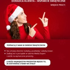Doradca Klienta - wsparcie świąteczne
