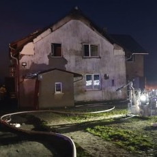 Cisy: Pożar wybuchł w garażu i przeniósł się na dom? Straty są…