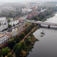 Budowa Bulwaru nad Nogatem w Malborku - październik 2020 [foto, wideo]