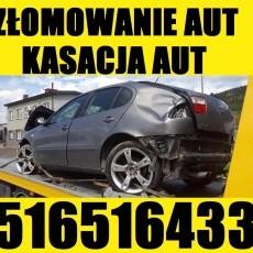 Skup Aut tel.516516433 Złomowanie Kasacja Malbork,Sztum,Stare Pole