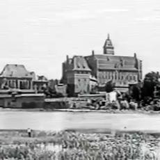 Malbork rok 1942. Zobacz unikatowy przedwojenny materiał wideo