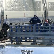 Malbork. Nie żyje mężczyzna potrącony przez pociąg pendolino