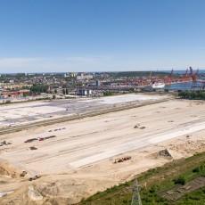 NDI - Budowa placów składowych w Porcie Gdynia - nawierzchnia betonowa